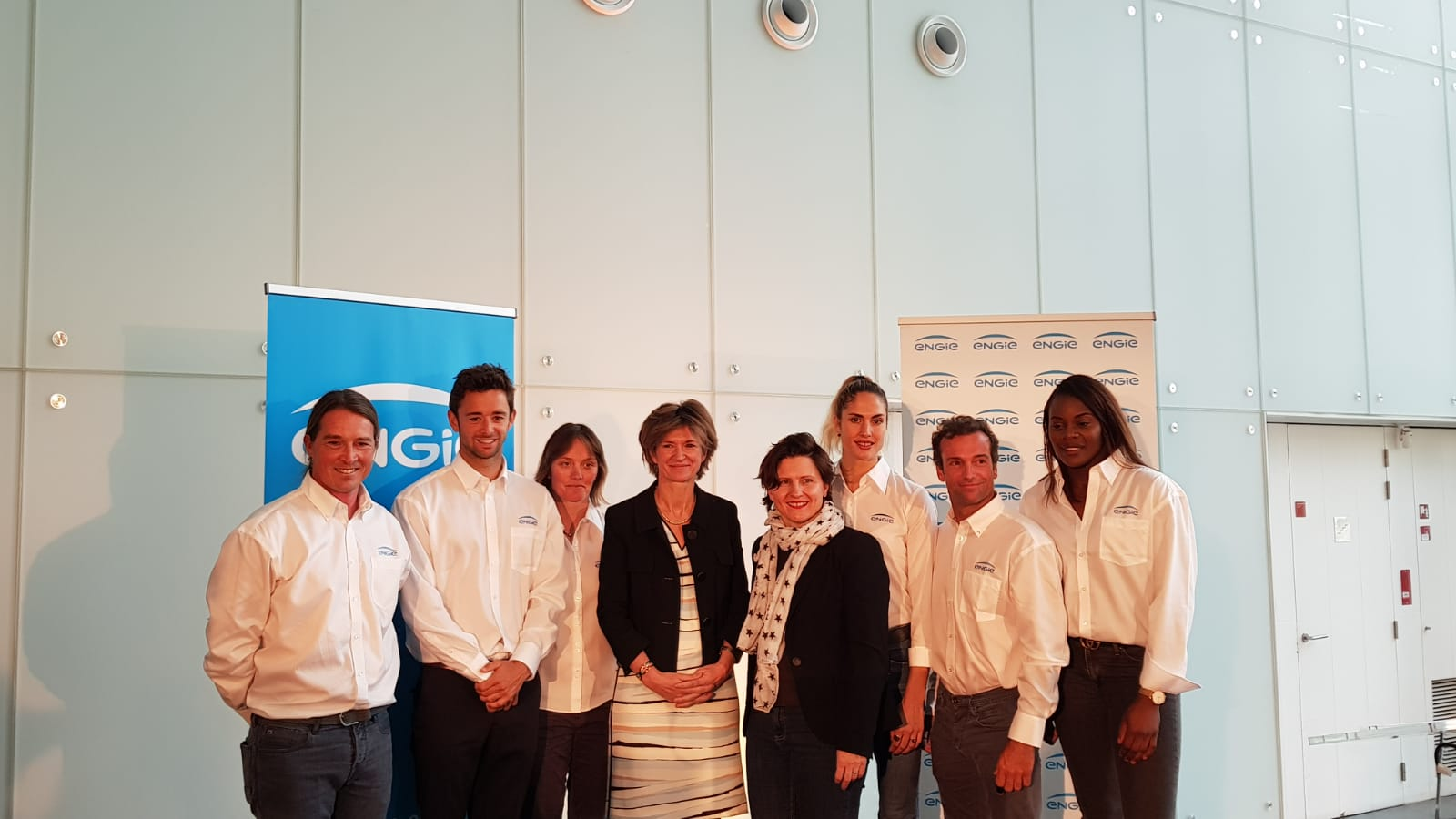 Signature Pacte de Performance Elodie Clouvel – Team ENGIE