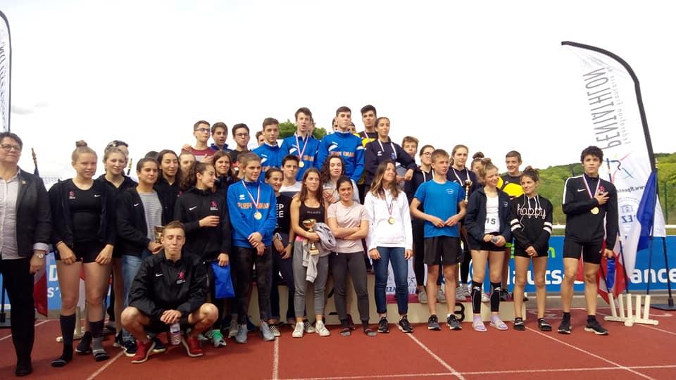 Championnats de France Tetrathlon U17
